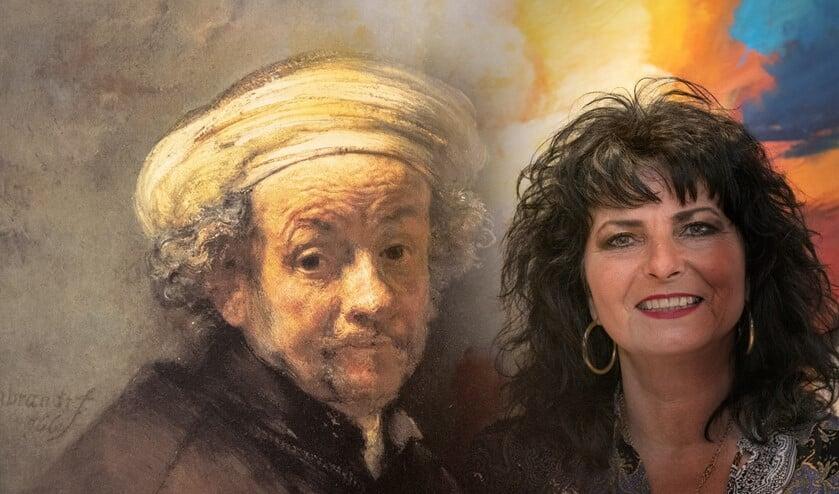 Cristina Vaudo heeft een grote fascinatie voor de schilder Rembrandt (Foto: Jos Uijtdehaage)