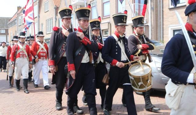 Het 'Corps Mariniers' was in 1801-1802 het vaste garnizoen van de Vesting Hellevoetsluis Foto: WILVANBALEN © GrootHellevoet.nl