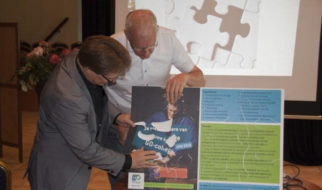 De eer van hetlaatste puzzelstukje kwam toe aan Theo Bolta, de nieuwe voorzitter vande Raad van Toezicht.
