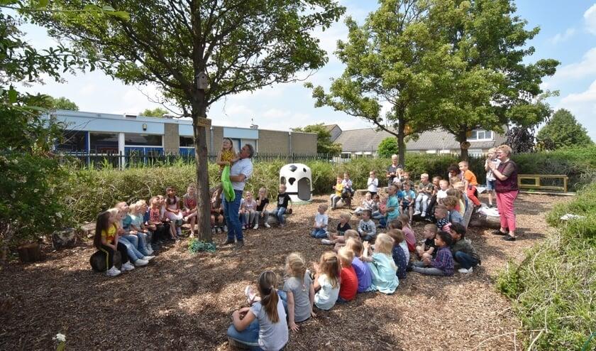 Het Anker heeft nu een echte natuurtuin. Foto: A.Witteveen.