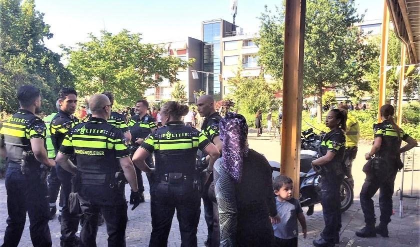 Op advies van de politie werd De Waterman ontruimd.