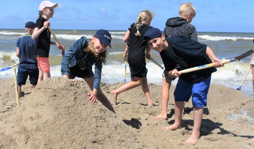 Maandag vond de Battle of the Beach plaats op het strand 'Molenslag' in Monster. Foto: (WB)