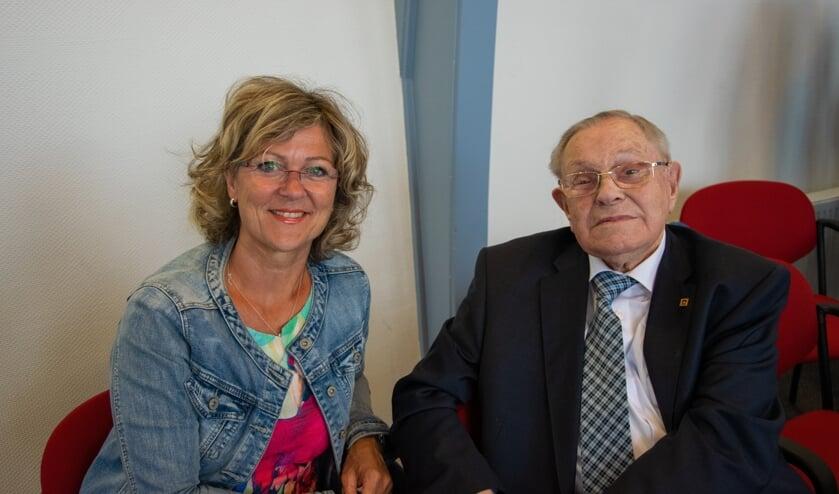 Burgemeester Ada Grootenboer-Dubbelman bracht een bezoekje aan de 101-jarige.  Foto: Sam Fish