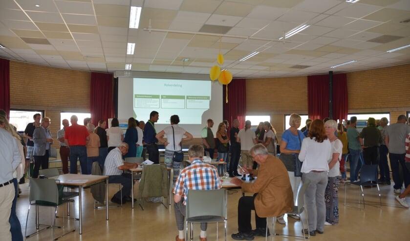Ook in Spijkenisse Noord was er een hoge opkomst bij de informatiebijeenkomst.