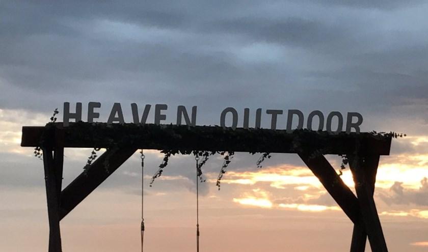 Bezoekers van Heaven Outdoor kunnen genieten van een adembenemende zonsondergang. Foto: (PR)