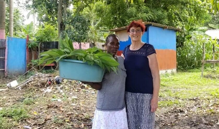 Van de'Stichting Vrienden van Haïti Nederland',zijn ze drie wekenopwerkbezoek geweest inHaïti
