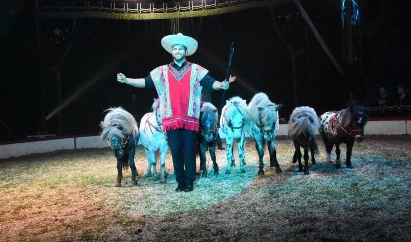 Dieren maken nog altijd deel uit van het circusprogramma.