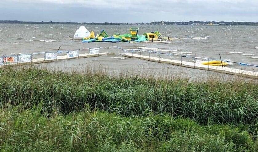 In juni werd het park ook al getroffen door de storm.