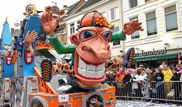 Carnaval in Breda. FOTO ARCHIEF DE BODE