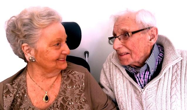 Echtpaar Van Schaik. FOTO RINIE MAAS