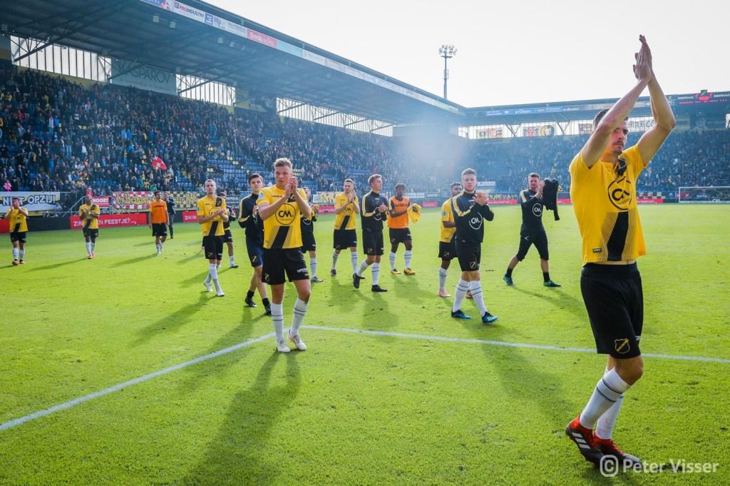 NAC en Willem II speelden zondag 21 oktober met 2-2 gelijk.