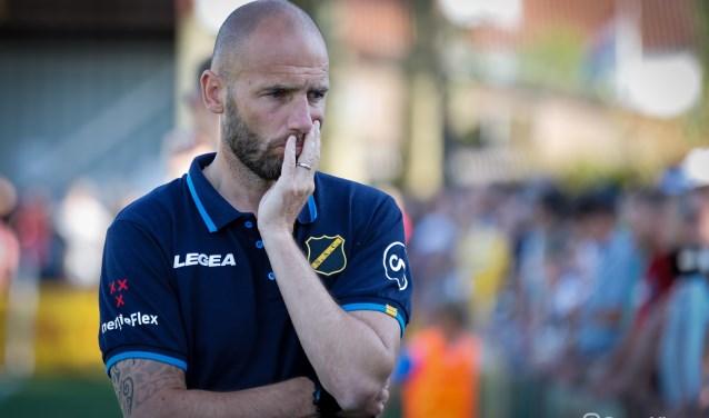 Trainer Mitchell van der Gaag.