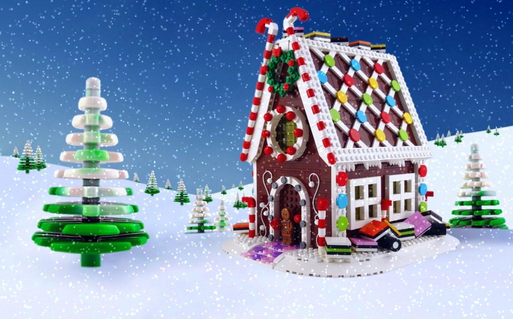 Foto: snowy christmas house © Internetbode