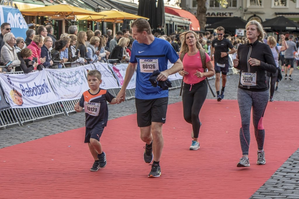 De familieloop tijdens de Singelloop 2018. Foto: Stadsfotograaf Breda © BredaVandaag