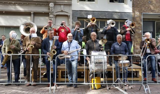 Muziek in de Boschstraat. Foto: Wijnand Nijs © BredaVandaag