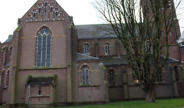 De plaats waar het nieuwe Sint Jorispad komt naast H.Gergorius.
