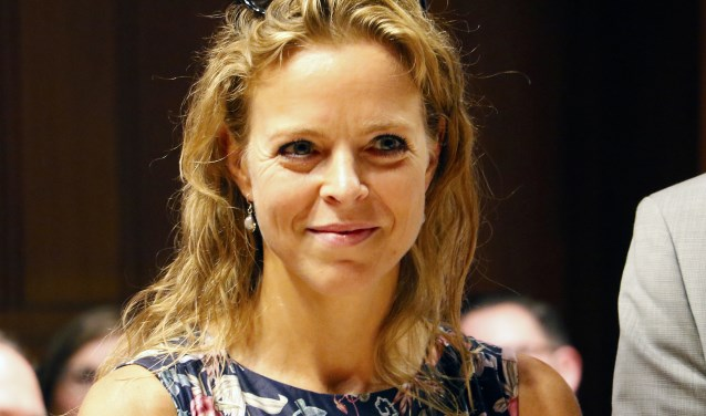 De nieuwe VVD-wethouder Greetje Bos.