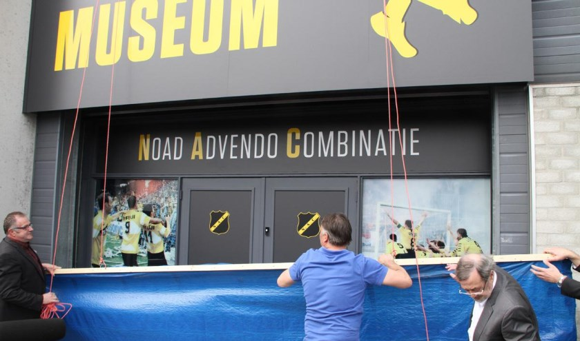 Het NAC Museum tijdens de opening drie jaar geleden