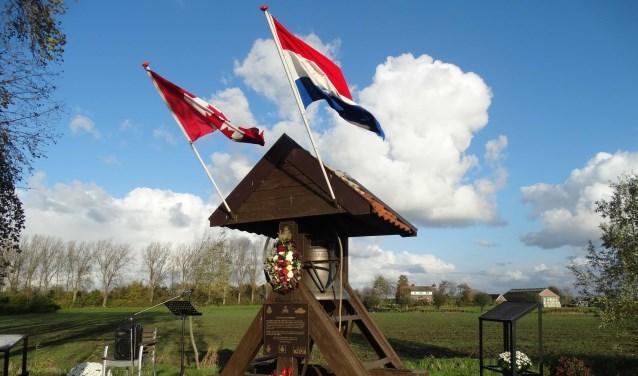Bevrijdings Monument Welberg, Canadezenweg.