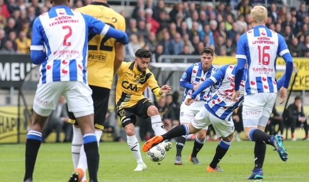 NAC-Heerenveen eerder dit jaar.