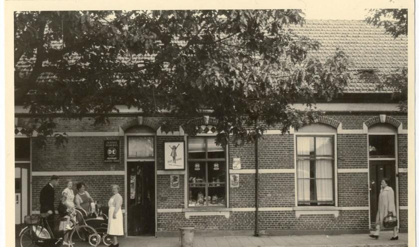 Mastbosstraat; woonstraat echtpaar Goorden. FOTO STADSARCHIEF