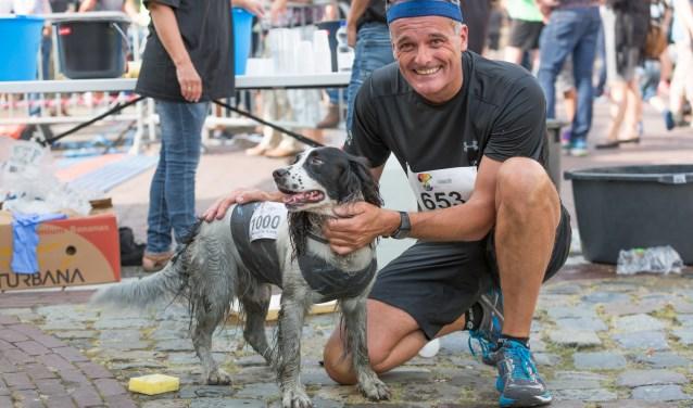 De halve marathon werd zelfs een keer gelopen door een hond. FOTO IMAN FASE