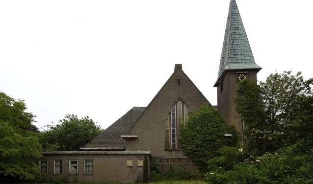 Het kerkgebouw aan de Bathseweg in Rilland.