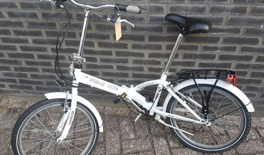 De gestolen fiets.