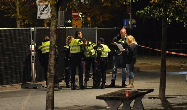 Politieonderzoek bij de Adriaan van Bergenstraat.