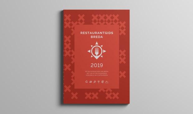 De eerste editie van de restaurantgids.