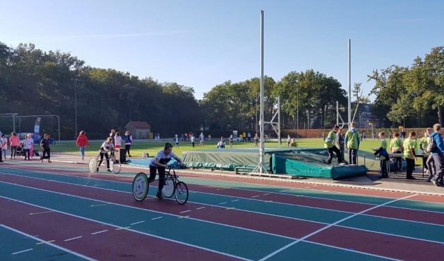 De racerunner was al even in gebruik tijdens de Special KIDS-dag begin oktober.