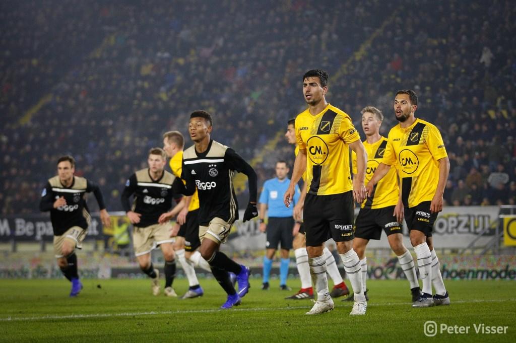 NAC verliest met 0-2 van Ajax. Foto: Peter Visser © BredaVandaag