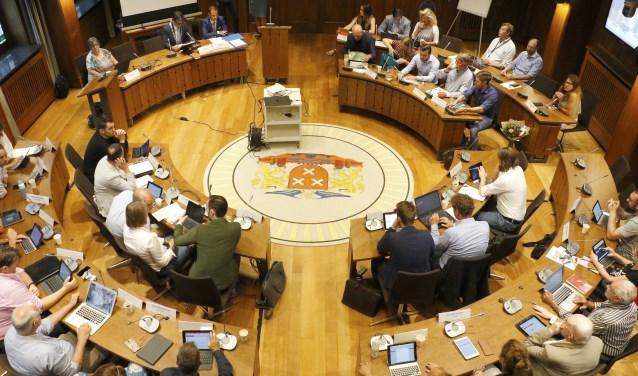 De Bredase gemeenteraad.