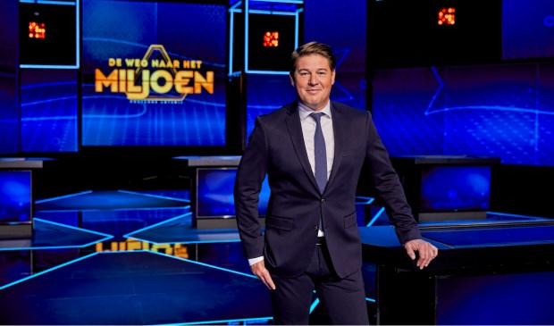 Martijn Krabbé presenteert 'Postcode Loterij De Weg naar het Miljoen'