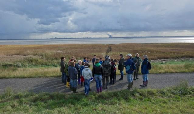 Bij de Westerscheldeoever bij Rilland komt een belevingspunt.