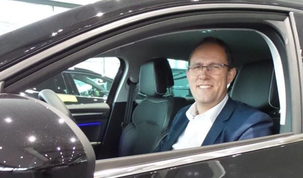 Verkoopleider Johan Slabbekoorn van Auto Indumij Oosterhout.