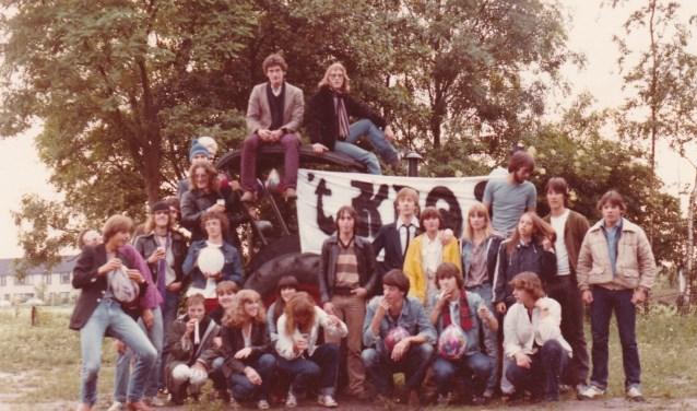 De jongerensociëteit trok veel middelbare scholieren