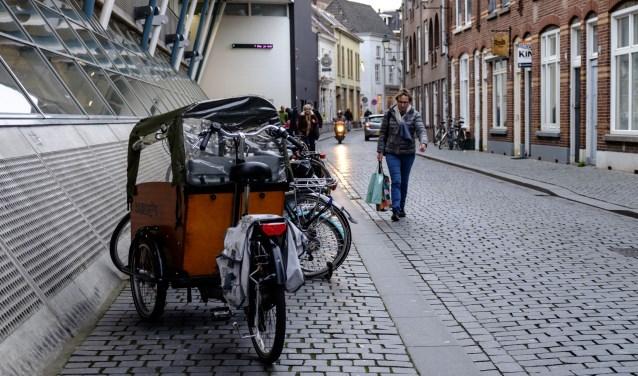 Molenstraat fietsparkeerders 2016