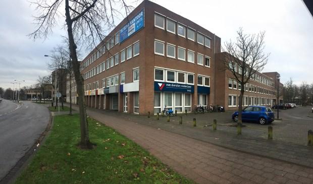 Het pand op de hoek van de Fellenoordstraat en de Zijlstraat dat door Maas-Jacobs is gekocht.