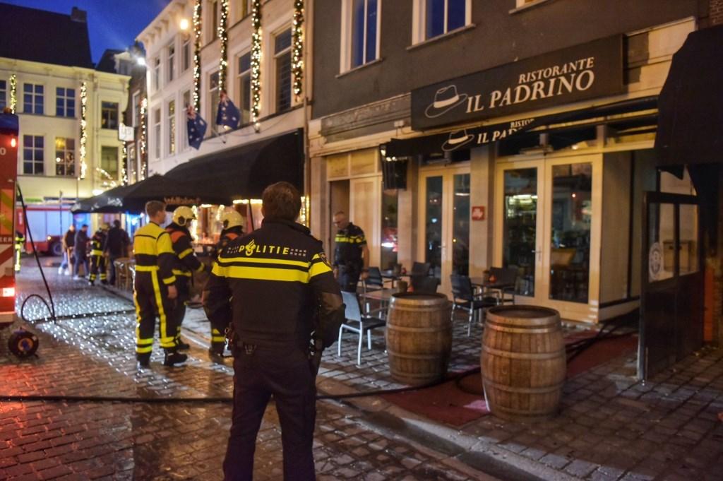 De brandweer moest in actie komen bij Il Padrino. Foto: Tom van der Put/SQ Vsion © BredaVandaag