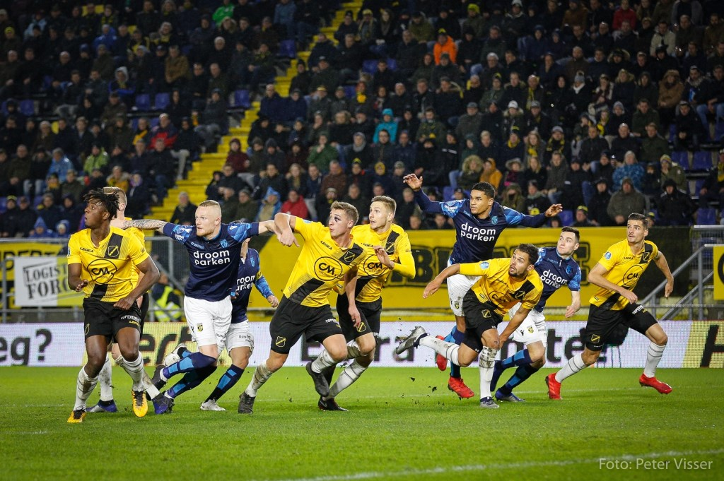 NAC wint op 9 december met 2-1 van Vitesse. Foto: Peter Visser © BredaVandaag
