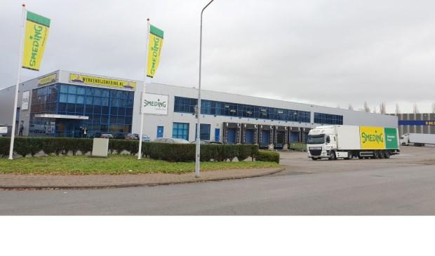 Het distributiecentrum van Smeding in Breda.