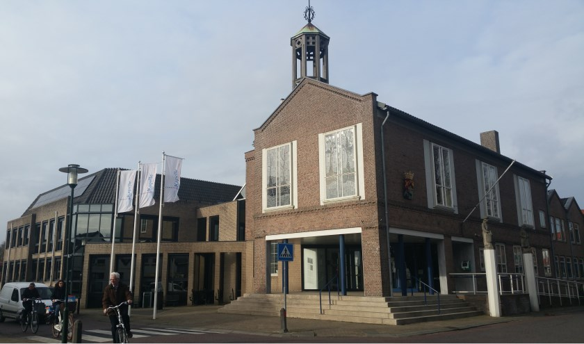Het gemeentehuis in Kapelle.