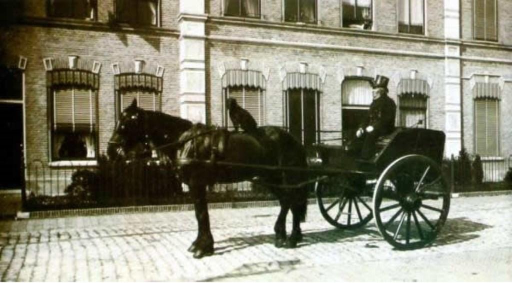 Postbesteller 19e eeuw. FOTO RINIE MAAS