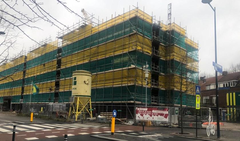 Het complex BredaVooruit aan de Stationslaan.