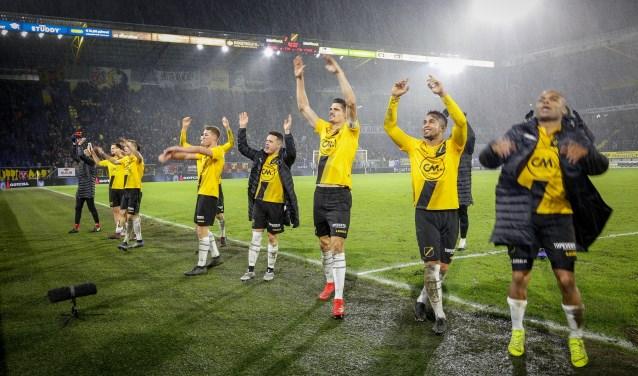NAC won op 9 december zijn vorige thuiswedstrijd met 2-1 van Vitesse.