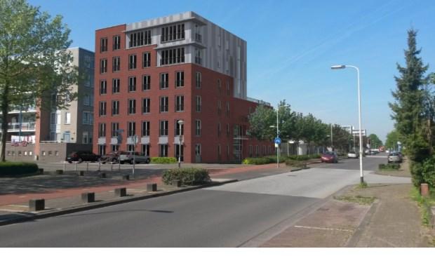 Het appartementencomplex Anna Roos aan de Meidoornstraat in Breda