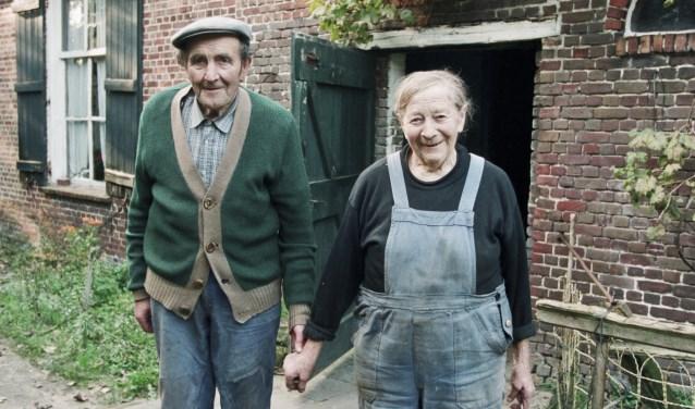 Jaon en Leentje Joosen. FOTO JOHAN VAN GURP