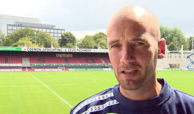 Mitchell van der Gaag nieuwe hoofdtrainer NAC