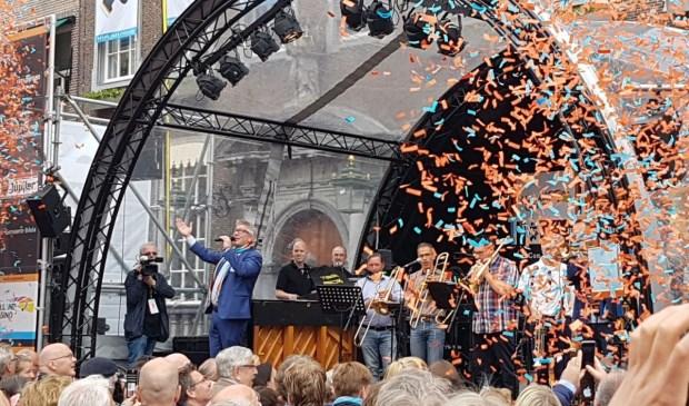 Breda Jazz Festival feestelijk van start op Grote Markt (foto's)